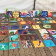 Creatempel schilderij klanten workshop schilderen eigentijdsfestival